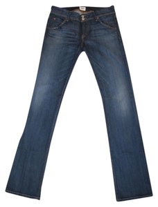 Hudson Jeans Studded Boot Cut Jeans-Medium Wash