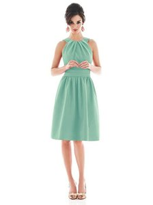 Alfred Sung Fresh Peau De Soie D494 Feminine Bridesmaid/Mob Dress Size 6 (S)