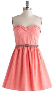 Modcloth short dress Pastel Pink on Tradesy