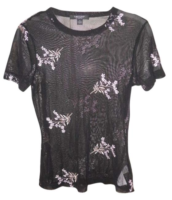 Preload https://img-static.tradesy.com/item/162305/karen-kane-black-sheer-t-shirt-tee-shirt-size-4-s-0-0-650-650.jpg