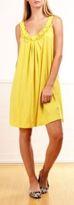 See by Chlo short dress Yellow Chloe Ring Detail on Tradesy
