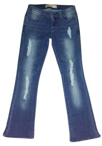 Papaya Boot Cut Jeans-Medium Wash