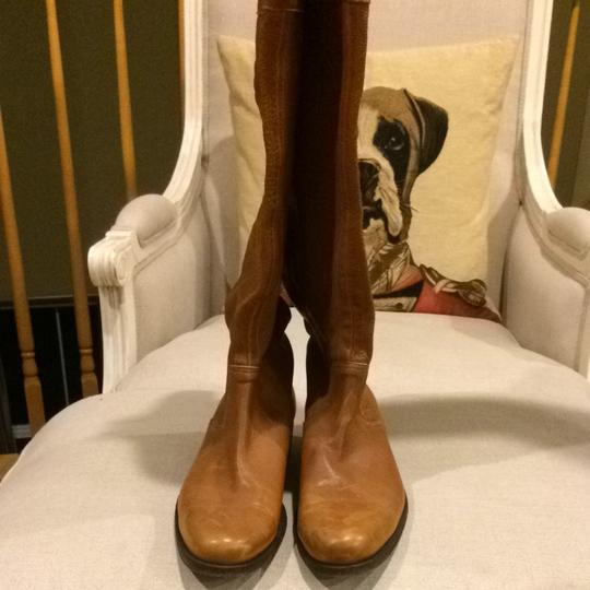 Hugo Boss Light Brown Boots