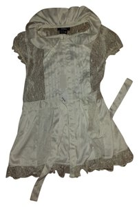 XOXO Lace Top Beige
