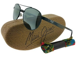 Maui Jim Maui Jim 727-2M Upcountry Black Polarized Sunglasses New In Box