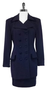 Christian Dior Navy Wool Blazer