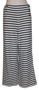 Free People Nautical Striped Beach Relax Daytime Pants