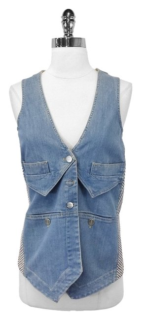 Preload https://item2.tradesy.com/images/marc-by-marc-jacobs-denim-and-striped-cotton-xs-vest-size-2-xs-1623446-0-0.jpg?width=400&height=650