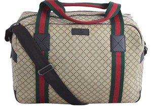 Gucci Travel Duffel Gym 806277820 Khaki Travel Bag