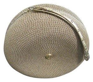 Eric Javits Wristlet in GOLDEN WHEAT