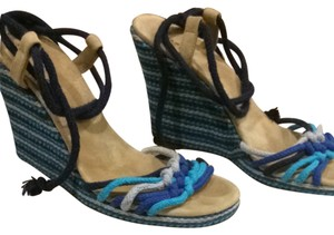 Marc Jacobs Blue Wedges