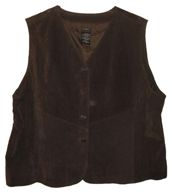 Preload https://item1.tradesy.com/images/dark-chocolate-outbrook-suede-leather-nbv03200-vest-size-22-plus-2x-1623515-0-0.jpg?width=400&height=650