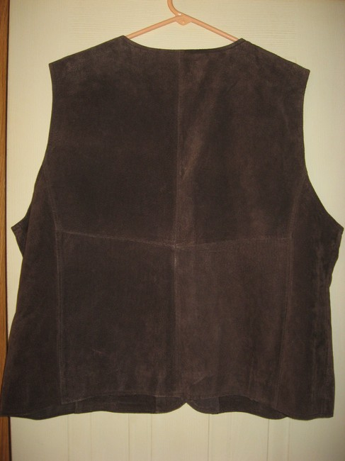 Other 100% Suede Color Womens Plus Size 2x New Vest