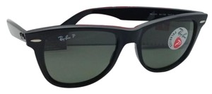 Ray-Ban Polarized RAY-BAN Sunglasses WAYFARER RB 2140 901/58 54 Black Frames
