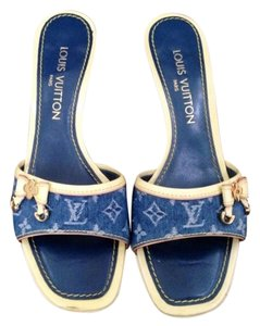 Louis Vuitton Denim Monogram Sandals