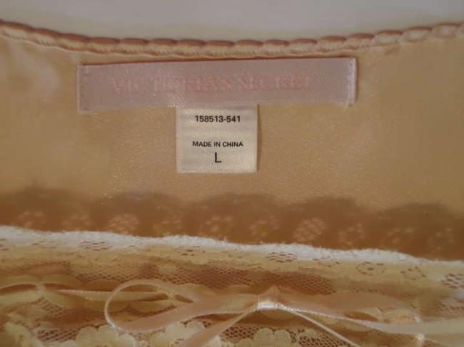Victoria's Secret short dress light mocha/peach & beige Lingerie Chemise Nightie Gown Nightgown Gown Silky on Tradesy