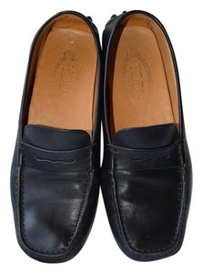 Tod's Designer Couture Driving Shoe black Flats
