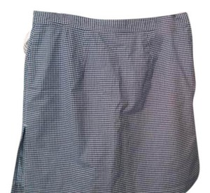 Liz Claiborne Skort Blue and white check