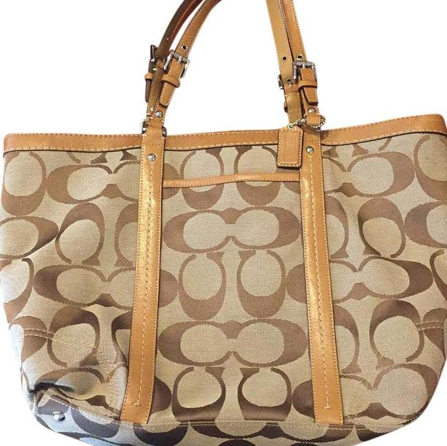 Coach Brown Tote Coach Brown Tote Image 1