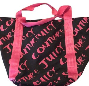 Juicy Couture Tote in Black And Pink