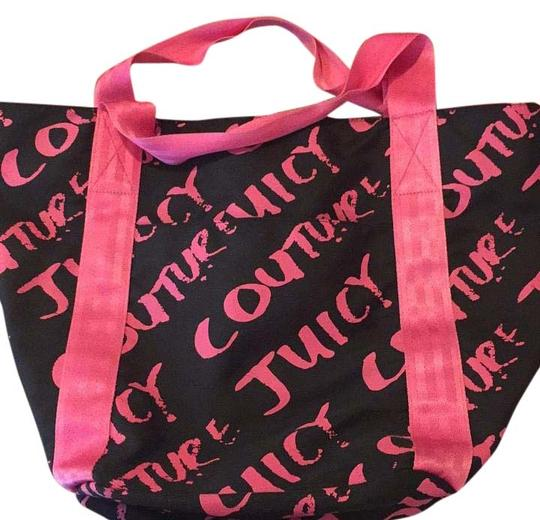 Preload https://img-static.tradesy.com/item/16237675/juicy-couture-black-and-pink-tote-0-1-540-540.jpg