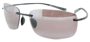 Maui Jim Maui Jim R724-02 Kumu Black/Rose Lens Polarized Sunglasses