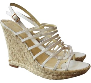 Via Spiga Wedge Espadrille white Sandals