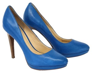 Cole Haan Blue Pumps