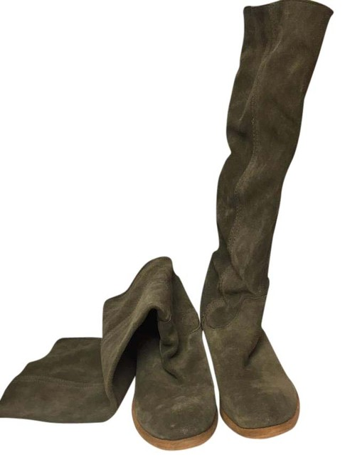Item - Olive Boots/Booties Size US 10 Narrow (Aa, N)
