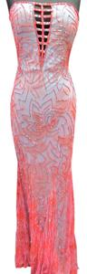 Precious Formals Beaded Pageant Two-tone Prom Homecoming Dress