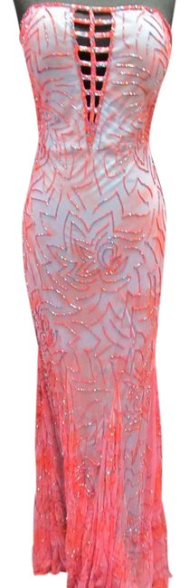 Item - Cherry/ Turquoise 8429 Long Formal Dress Size 2 (XS)