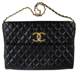 Chanel Maxi Jumbo Vintage Flap Quilted Shoulder Bag