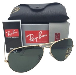 Ray-Ban New Ray-Ban Sunglasses LARGE METAL II Aviator RB 3026 L2846 62-14 Gold Frames w/ G15 Lenses