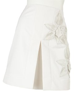 Fendi Mini Skirt White