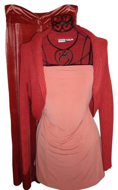 Preload https://item4.tradesy.com/images/peach-xl-strapless-tunic-size-16-xl-plus-0x-162398-0-0.jpg?width=400&height=650