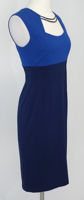 BCBGMAXAZRIA short dress Cobalt & Navy on Tradesy