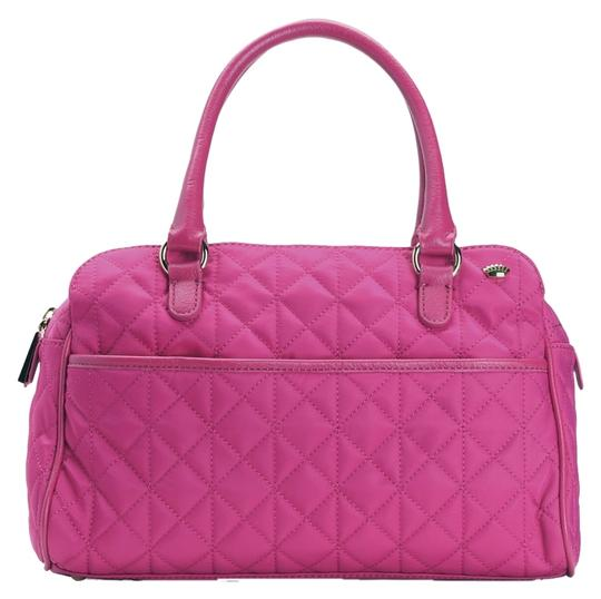 Preload https://item3.tradesy.com/images/juicy-couture-larchmont-raspberry-pink-nylon-with-leather-trim-satchel-1624052-0-0.jpg?width=440&height=440