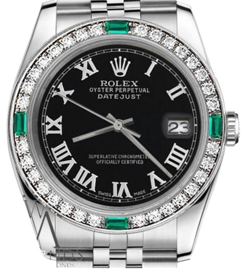 Preload https://img-static.tradesy.com/item/16240747/rolex-women-s-31mm-datejust-black-color-emerald-roman-numeral-watch-0-1-540-540.jpg
