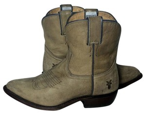 Frye 77815 Billy Cowgirl 7 Size 7 Beige Boots