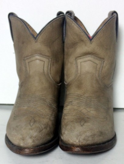 Frye 77815 Billy Cowgirl 7 Size 7 Beige Boots Image 1