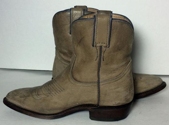Frye 77815 Billy Cowgirl 7 Size 7 Beige Boots Image 2