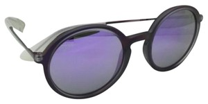 Ray-Ban New Ray-Ban Sunglasses RB 4222 6168/4V 50-21 Shot Violet Rubber Frame w/ Violet Mirror Lenses