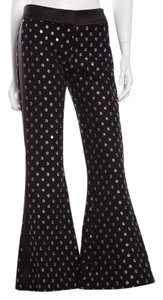Alexis Super Flare Pants Black & Silver