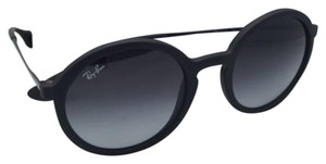 Ray-Ban New Ray-Ban Sunglasses RB 4222 622/8G 50-21 Black Rubber Frame w/ Grey Gradient Lenses