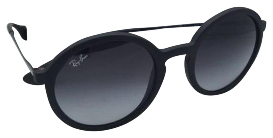Ray-Ban Rb 4222 622/8g 50-21 Black Rubber Frame W/ Grey Gradient New ...