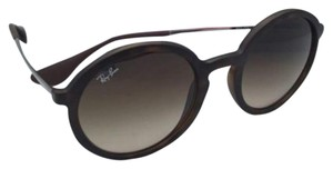 Ray-Ban New Ray-Ban Sunglasses RB 4222 865/13 50-21 Havana Rubber Frame w/ Brown Gradient Lenses