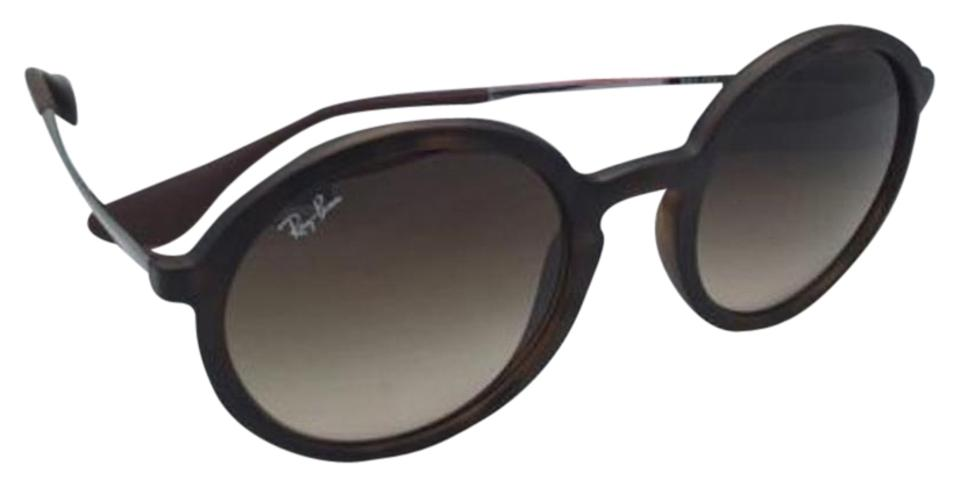 56d59ab137 Ray-Ban Rb 4222 865 13 50-21 Havana Rubber Frame   Brown Gradient ...