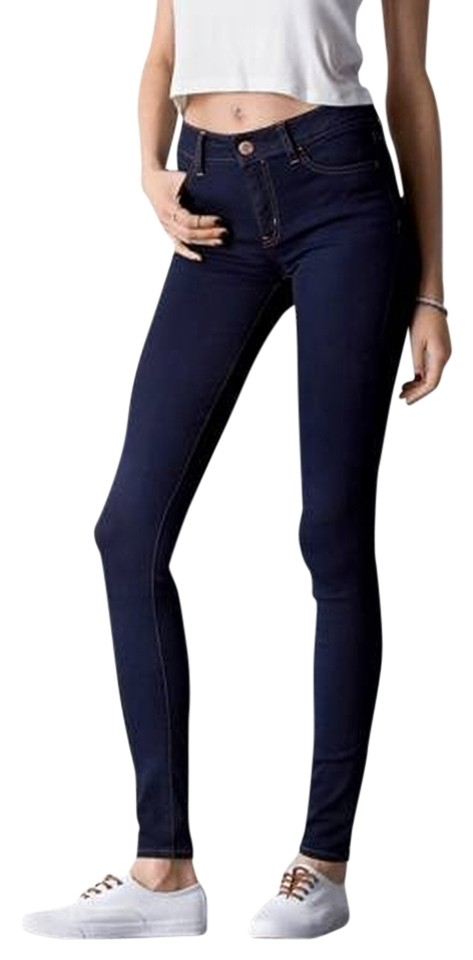 aa79ae5b7db4e3 American Eagle Outfitters Clean Rinse (Dark) Dark Hi-rise Style:0433-8604  Jeggings