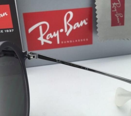 Ray-Ban New Ray-Ban Sunglasses RB 4222 6167/6Q 50-21 Shot Red Rubber Frame w/ Red Mirror Lenses Image 3