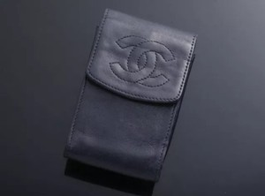 Chanel Chanel Key Pouch. Lambskin Leather. Beautiful! Free Ship!